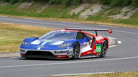 Ford GT (Суперкар Ford GT / Форд GT для Ле Ман)