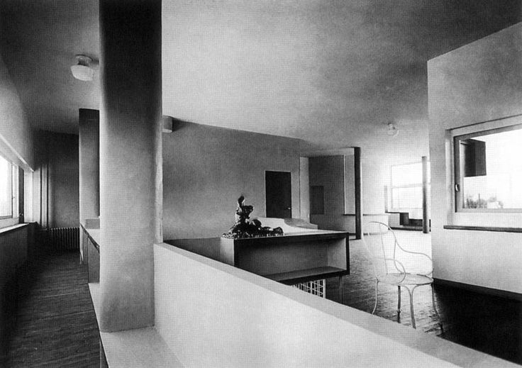 villa stein de monzie interior le corbusier. Black Bedroom Furniture Sets. Home Design Ideas