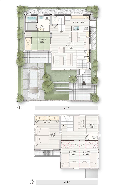 02:家族のつながりを楽しむ家|セキスイハイム|新築一戸建て ...