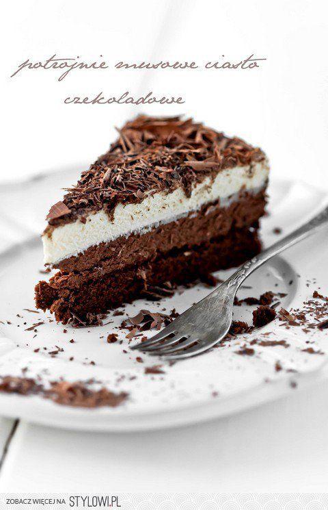 Moje Wypieki | Potrójnie musowe ciasto czekoladowe na Stylowi.pl