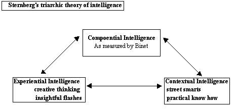 sternberg_1985_triarchic theory of intelligence