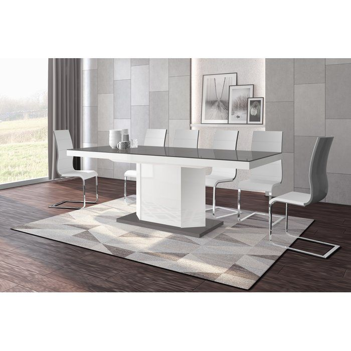 Borough Storage Extendable Dining Table Extendable Dining Table