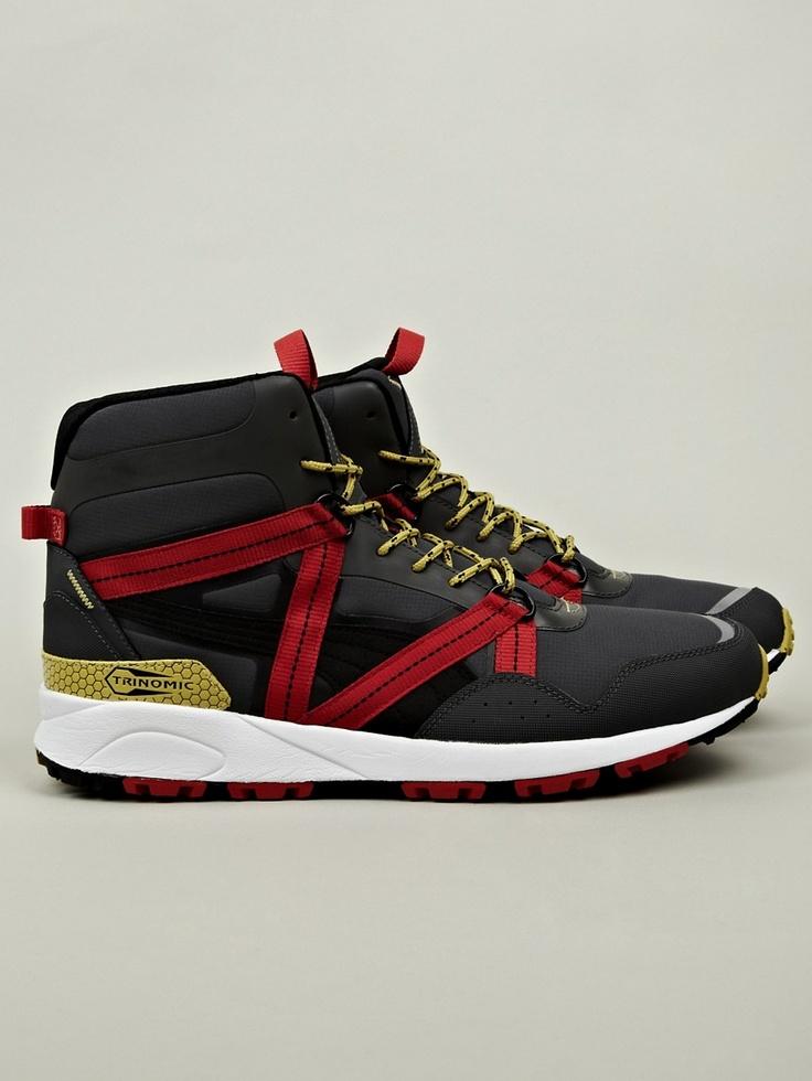 Puma Men's Trinomic Trail Hi Sneaker in grey at oki-ni