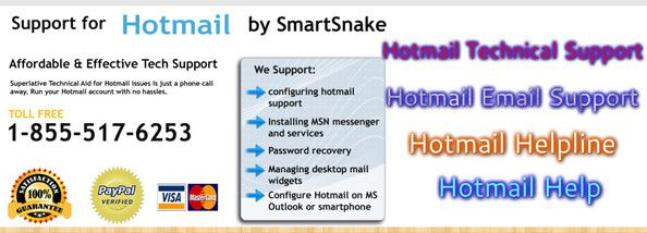 Work peacefully and trouble-free till you are getting the amazing Hotmail email support from Smartsnake technical service provider. The promises of Hotmail helpline at 1-800-86-4764 are there to keep. For all the errors and issues, this Hotmail helpline works expertly. The tech experts will give you ultimate way-outs.
