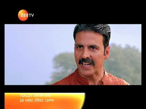 Toilet: Ek Prem Katha | 26th Nov Sunday at 12 PM | On Zee TV