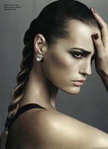 makeup, hair skin all perfect!