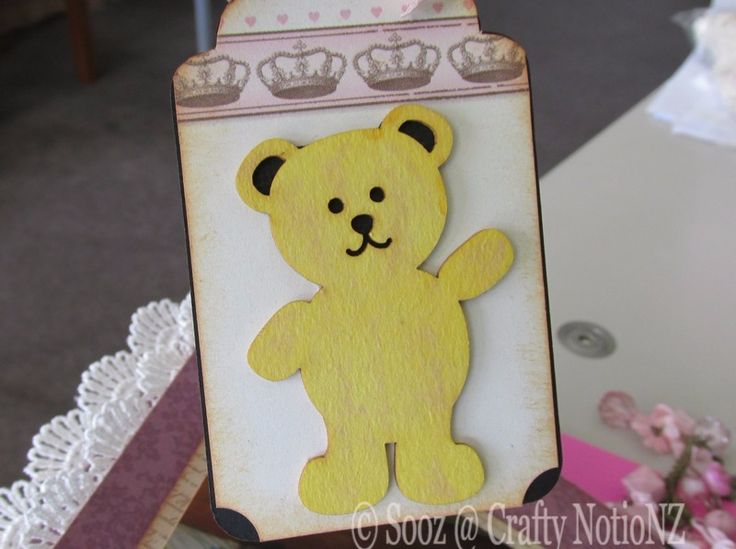 Teddy Chipboard from Scrapek