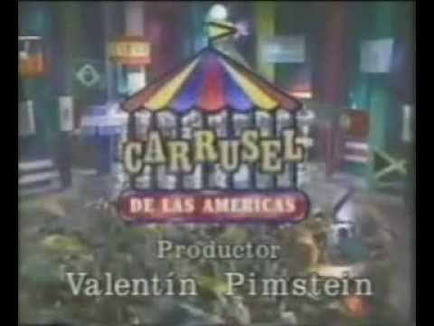 CARRUSEL DE LAS AMERICAS: ENTRADAS DE TELENOVELA  (1992)