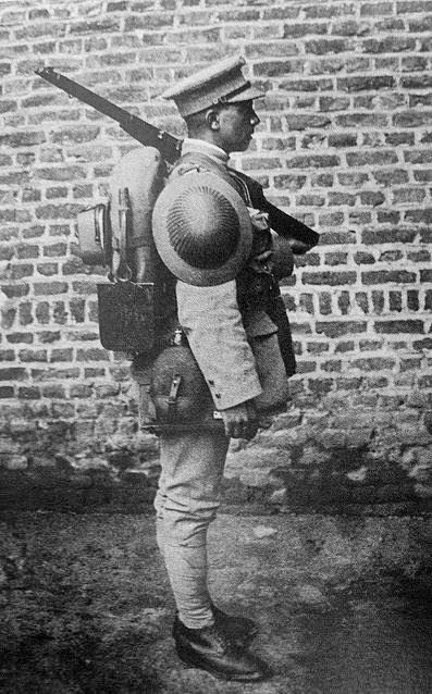 Portuguese infantry soldier (CEP) during World War I