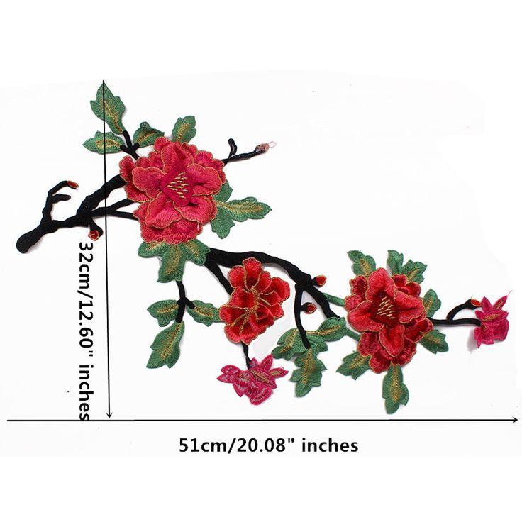 1 шт 3D Цветок Кружева Вышивка Патчи Аппликация Мотив Отделка Кружевом Ткань Скрапбукинга Швейная Фурнитура для Судов T1632