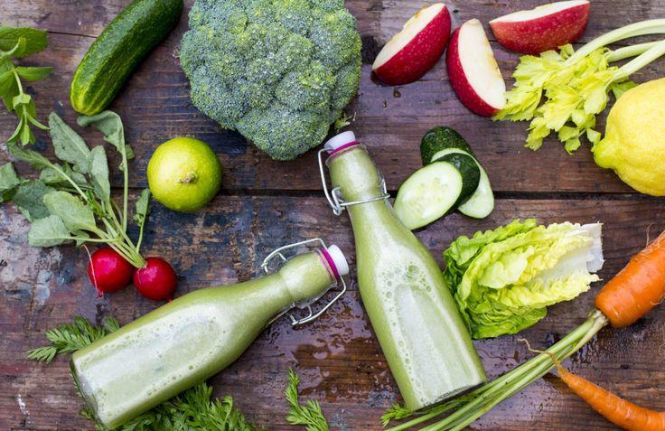 Zielony sok warzywny