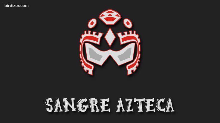 Sangre Azteca máscara wallpaper