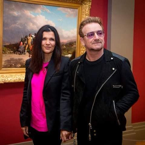 Bono and Ali Hewson by u2oficial