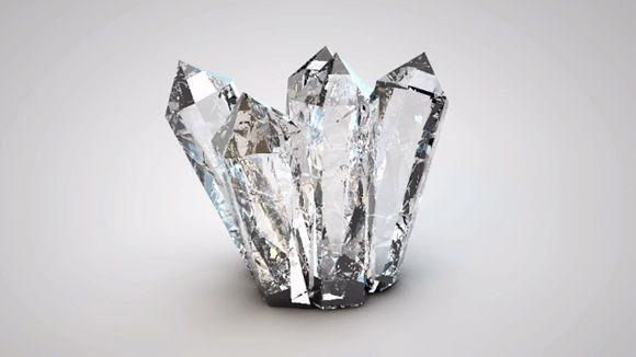 Cinema 4D - Creating Realistic Crystals Tutorial