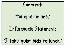 enforceable statements
