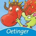Die Olchis - Ein Drachenfest für Feuerstuhl (Android) - Ein interaktives Kinderbuch, das sich um die Fantasiefiguren der Olchis und ihren Freund den Drachen Feuerstuhl und seinen Geburtstag dreht.