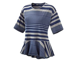 @Stella Menagia McCartney FOR ADIDAS WOMEN'S STUDIO STRIPE TEE