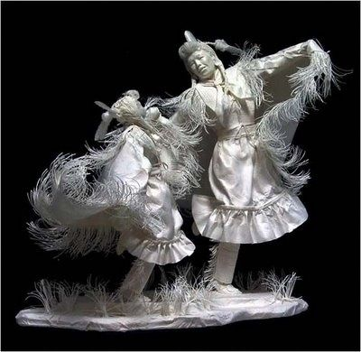 Best Paper Arts Images On Pinterest Free Pattern Paper Art - Artist creates amazing paper sculptures ever seen