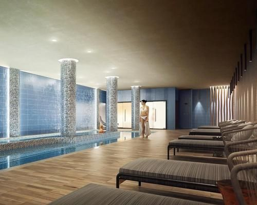 Greek lifestyle hotel to include Elemis spa in shades of blue