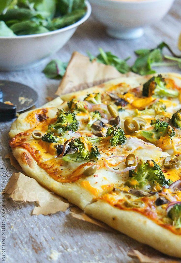 Artisan Broccoli Pizza
