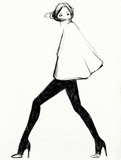 fashion: Artsy Things, Angelesc Apartment, Garanc Dore, Apartment Living, The Sartorialist, Classic Chic, Fashion Illustrations, Fashion Illistr, Fashion Sketch