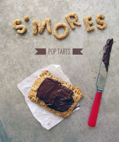 S'mores Pop Tarts // take a megabite... the best store bought type so I can only imagine these!