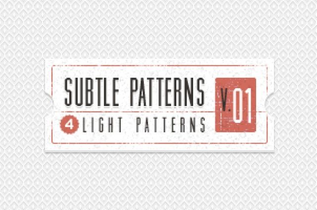 Our subtle light texture patterns background are comprised of 4 light tile patterns ideal to create a subtle and original light...