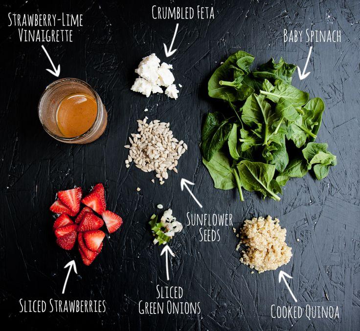 Easy fresh spinach salad recipes