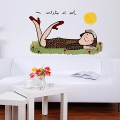 Un ratito al sol http://www.chispum.com/vinilos-infantil-un-ratito-al-sol
