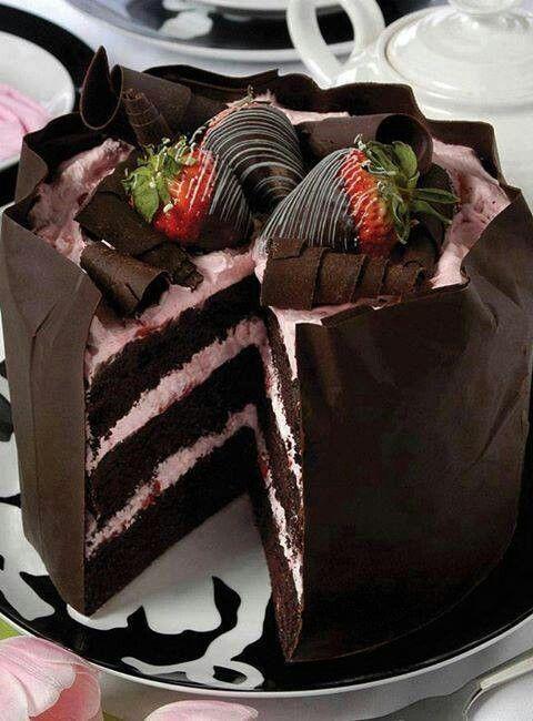 Chocolate Strawberry Cream Dream!