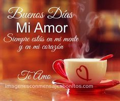 Imagenes Para Whatsapp De Buenos Dias Mi Amor | Imagenes Con ...