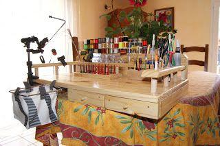 La Passion de la Pêche à la Mouche: Une table de montage pour vos mouches de…