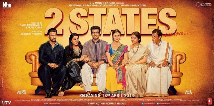 2 states poster - you like? #Bollywood #Hindicinema