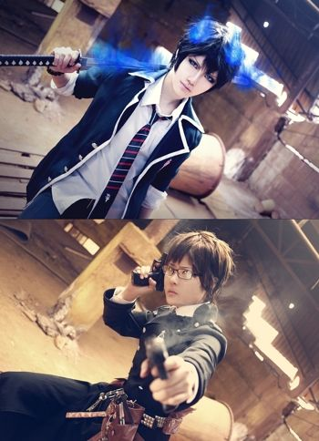 Blue Exorcist Cosplay some people are born for cosplay! this is amazing!