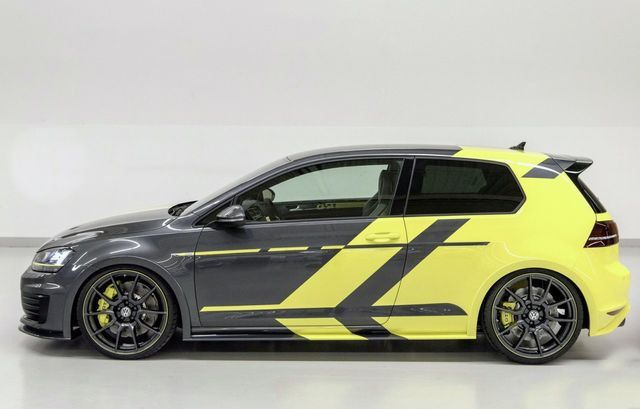 VW apprentices prep Golf GTI Dark Shine, Variant Biturbo for Worthersee