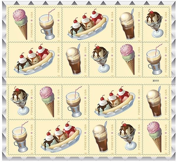 USPS celebrates soda fountain favorites with Forever stamps