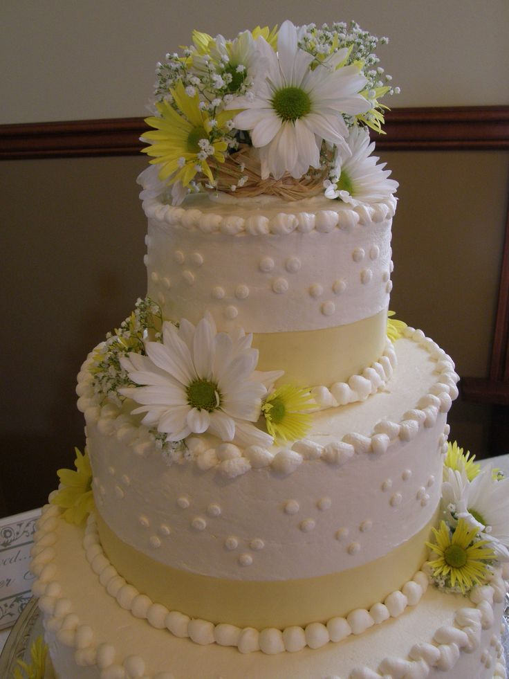 wedding cakes with daisy flowers 17 best images about sunflower theme on 26017
