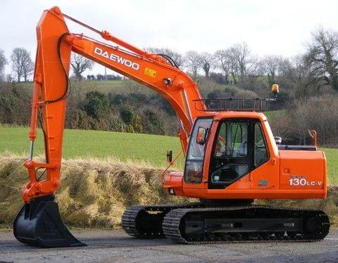 doosan daewoo solar 130lc v hydraulic excavator service repair workshop manual download see Terex Excavator JCB Excavator