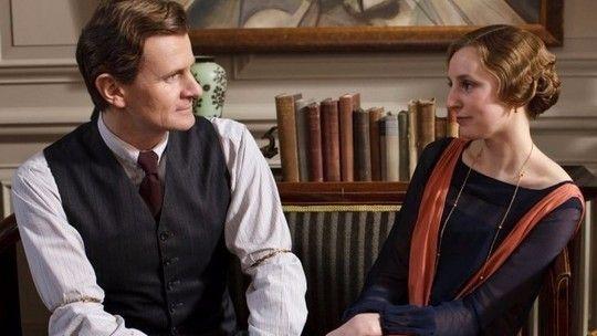ITV - Downton Abbey - Michael Gregson & Lady Edith