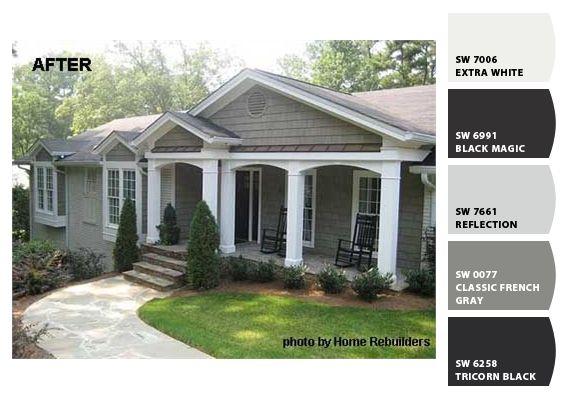 Les 92 meilleures images à propos de exterior house paint sur