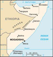 Somalia, en África, es actualmente uno de los países más peligrosos del mundo, por lo que no se recomienda en ningún caso como destino turístico.