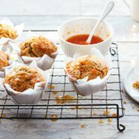 Clementine drizzle muffins