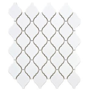 somertile casablanca glossy white porcelain mosaic tiles set of overstock shopping big discounts on somertile wall tiles