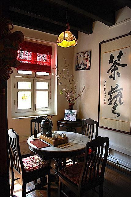 ティーチャプター エリザベス2世が来店した中国茶館