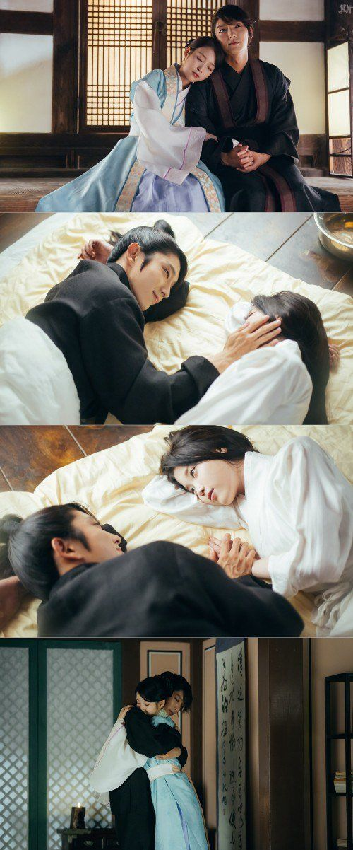 """Scarlet Heart: Ryeo"" Lee Joon-ki and IU's romantic moment @ HanCinema :: The Korean Movie and Drama Database"