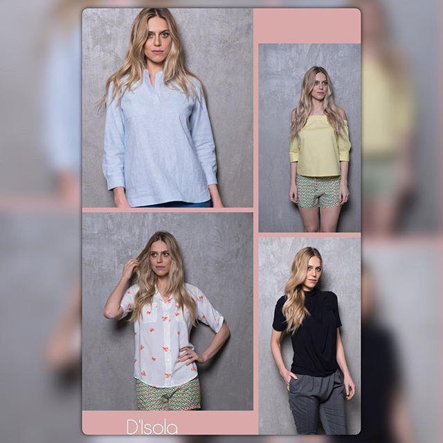 Estes são alguns dos Tops da @ternodisola. Túnica de linho Zara, blusa ombro a ombro amarela, camisa de viscose Siri e blusa lupita. #ternodısola #tops #camisa #blusa #modafeminina #casualday #malinhas #lojaonline