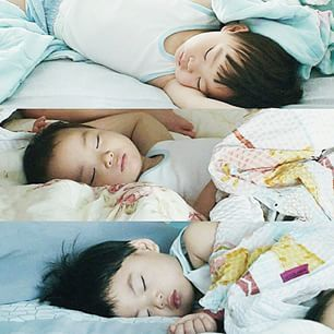 The 3 adorable angels in dreamland