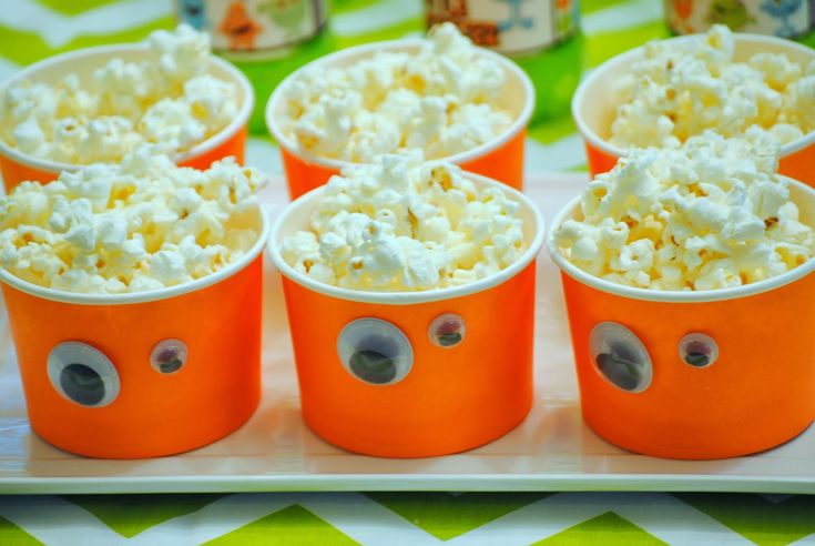 monster party treat cups