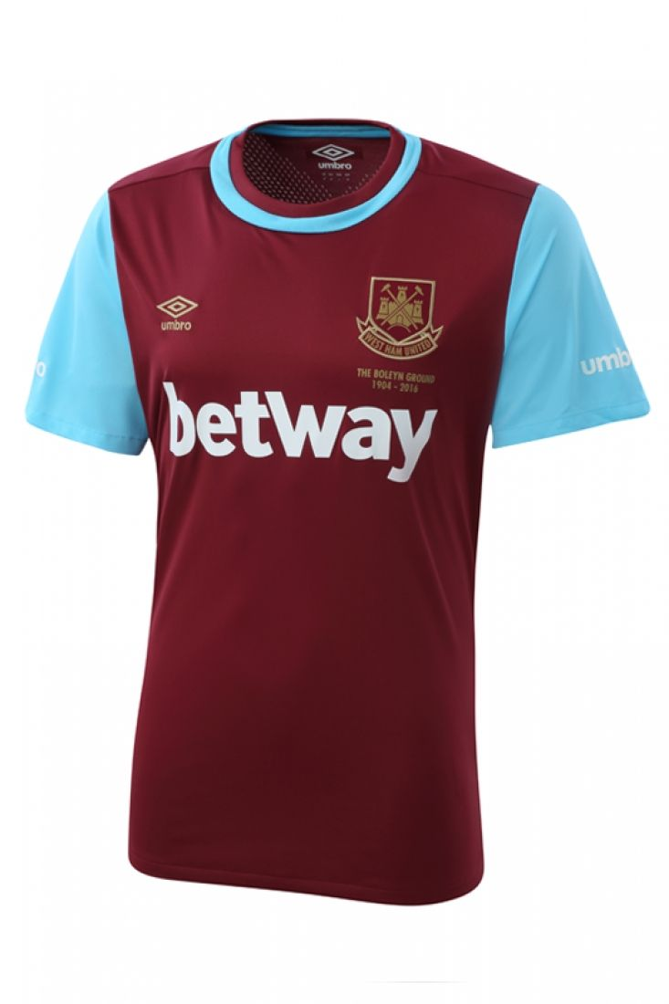 West Ham United 15/16 Umbro Home Football Shirt | 15/16 Kits | Football shirt blog