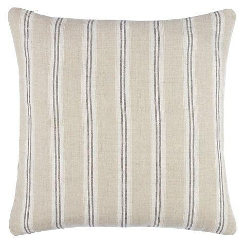 Buy John Lewis Linen Stripe Cushion Online At Johnlewis.com